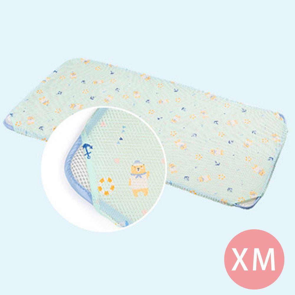韓國 GIO Pillow - 智慧二合一床套-水手熊藍 (XM號)