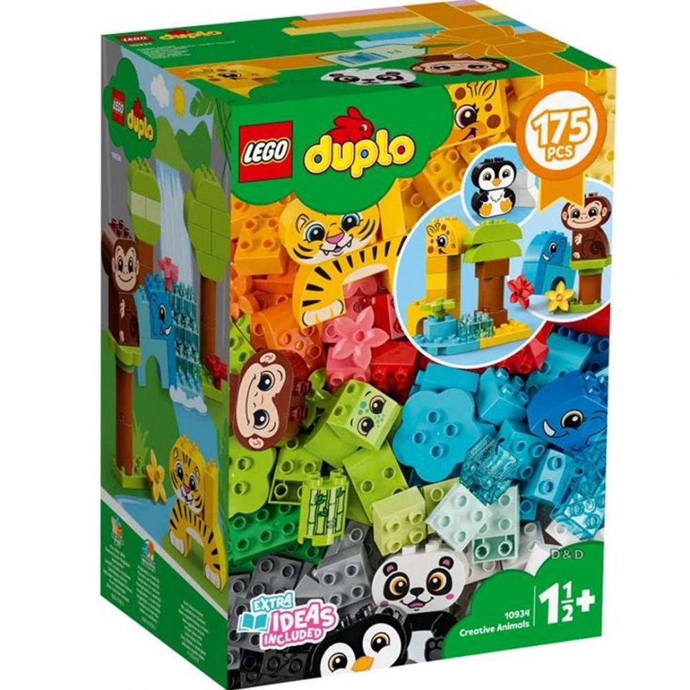 樂高 LEGO - 樂高積木 LEGO《 LT10934 》Duplo 得寶系列 - 創意動物群-175pcs