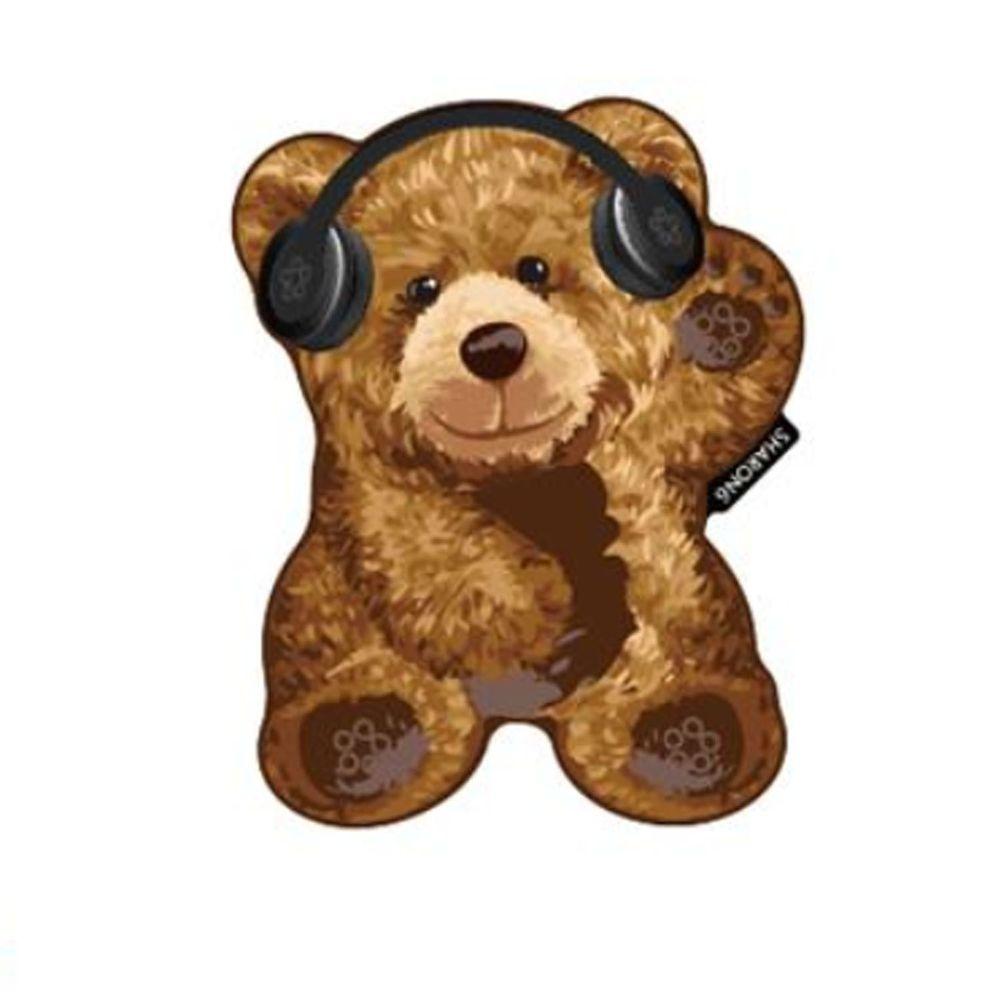 韓國 SHARON6 - 手機氣囊支架-特別款-音樂熊熊