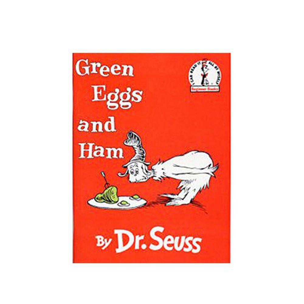 有聲書-GREEN EGGS & HAM /平裝繪本+CD