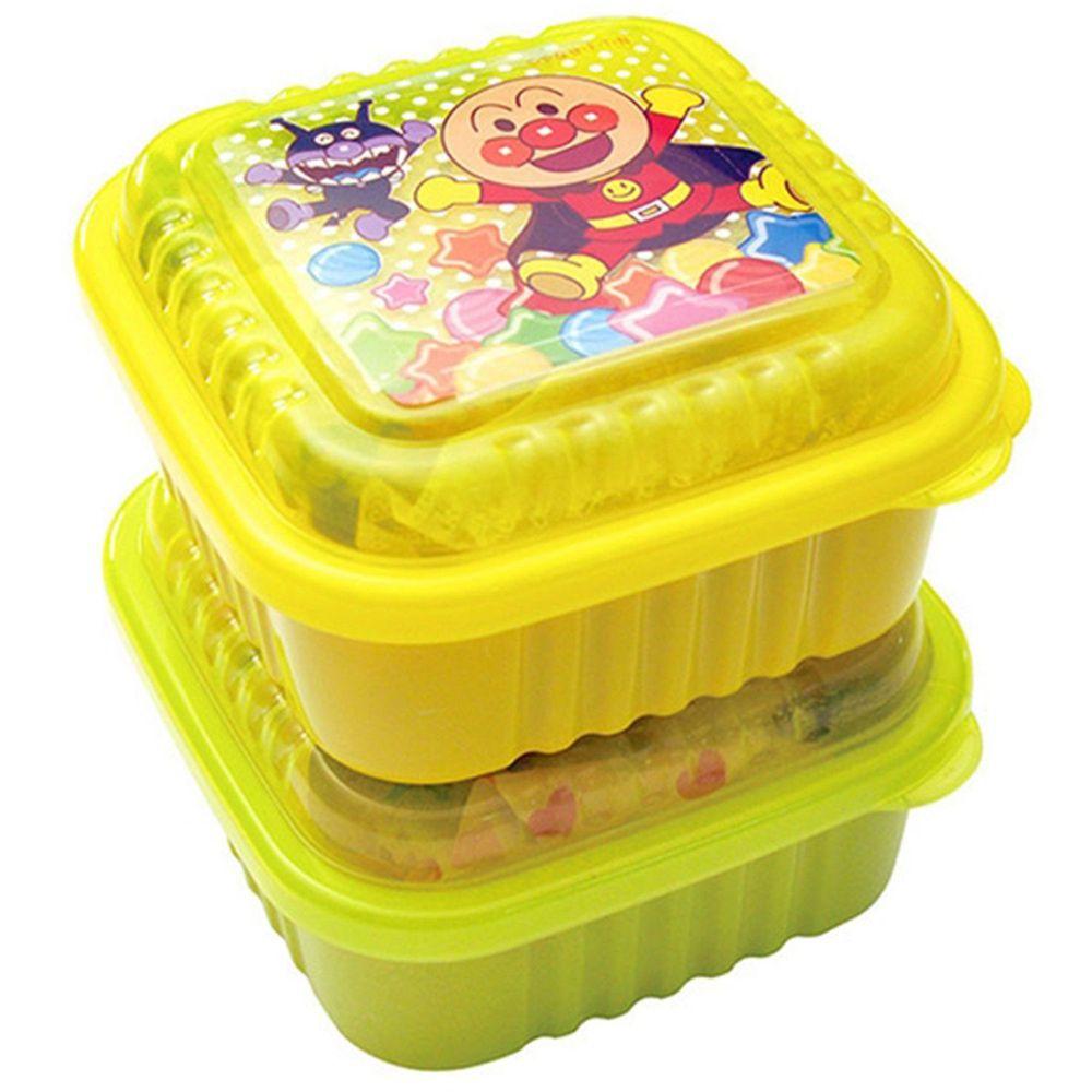 日本麵包超人 - AN麵包超人日製方型保鮮盒-2入組 (大)