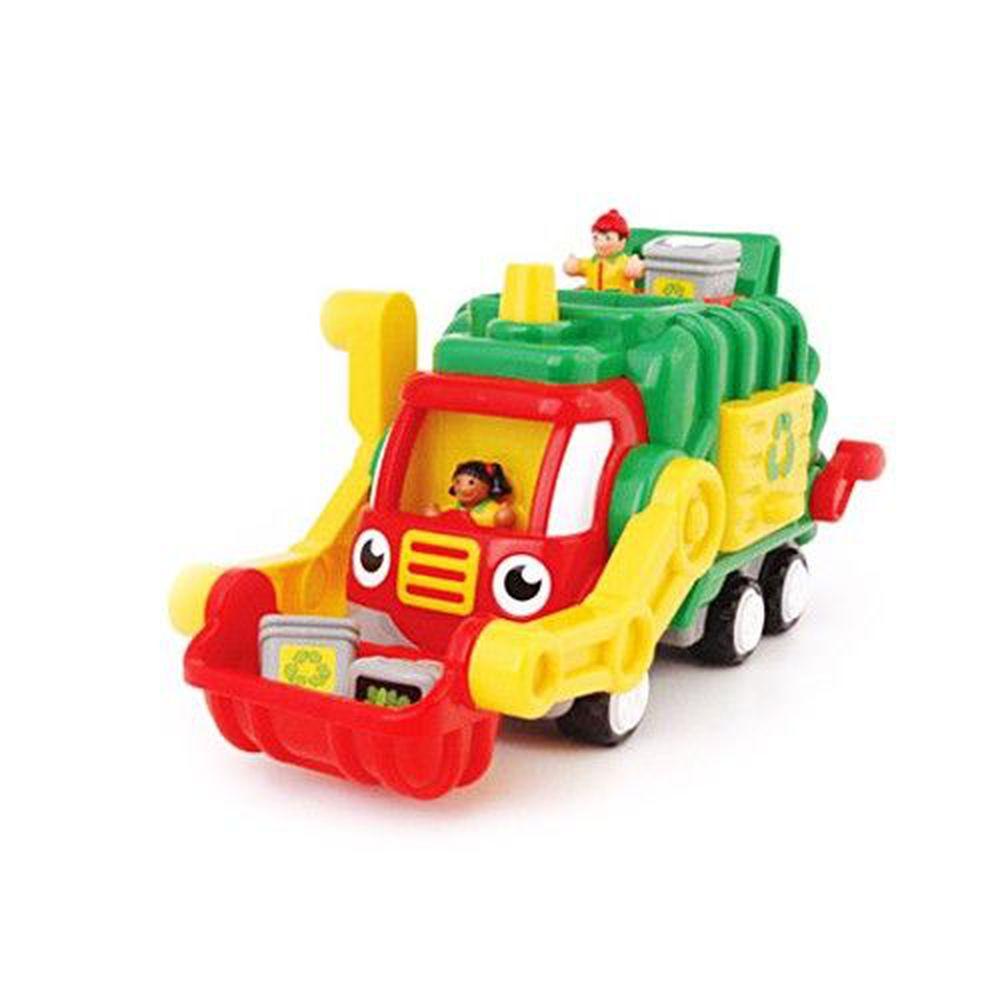 英國驚奇玩具 WOW Toys - 資源回收垃圾車 佛列德