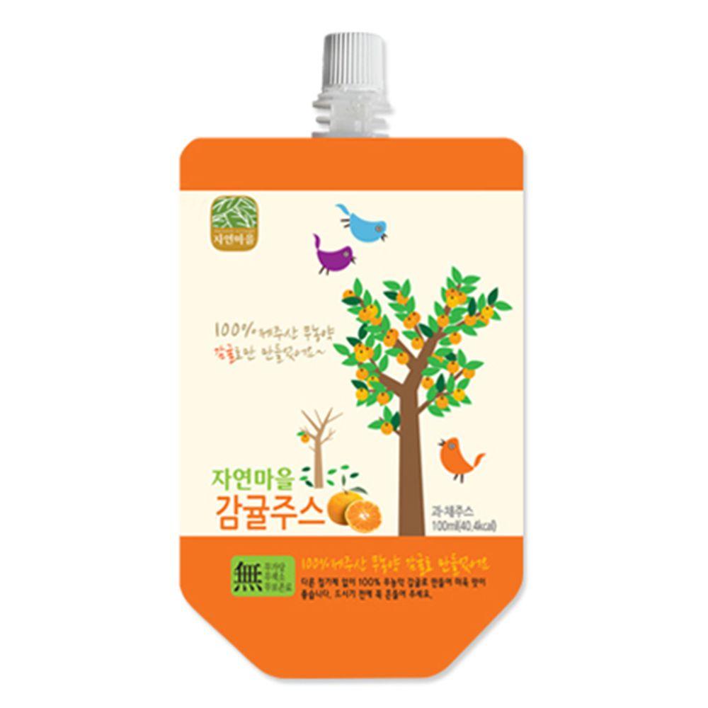 韓國自然村 - 果汁-柑橘-100ml