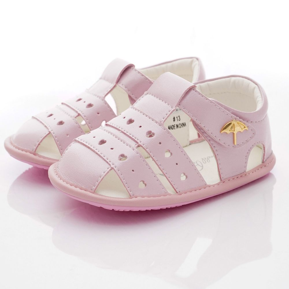 Arnold Palmer 雨傘牌 - 護趾軟軟學步涼鞋款(寶寶段)-粉紅