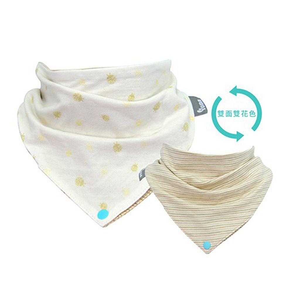YODA - organic cotton有機棉扣扣兜-幸運瓢蟲