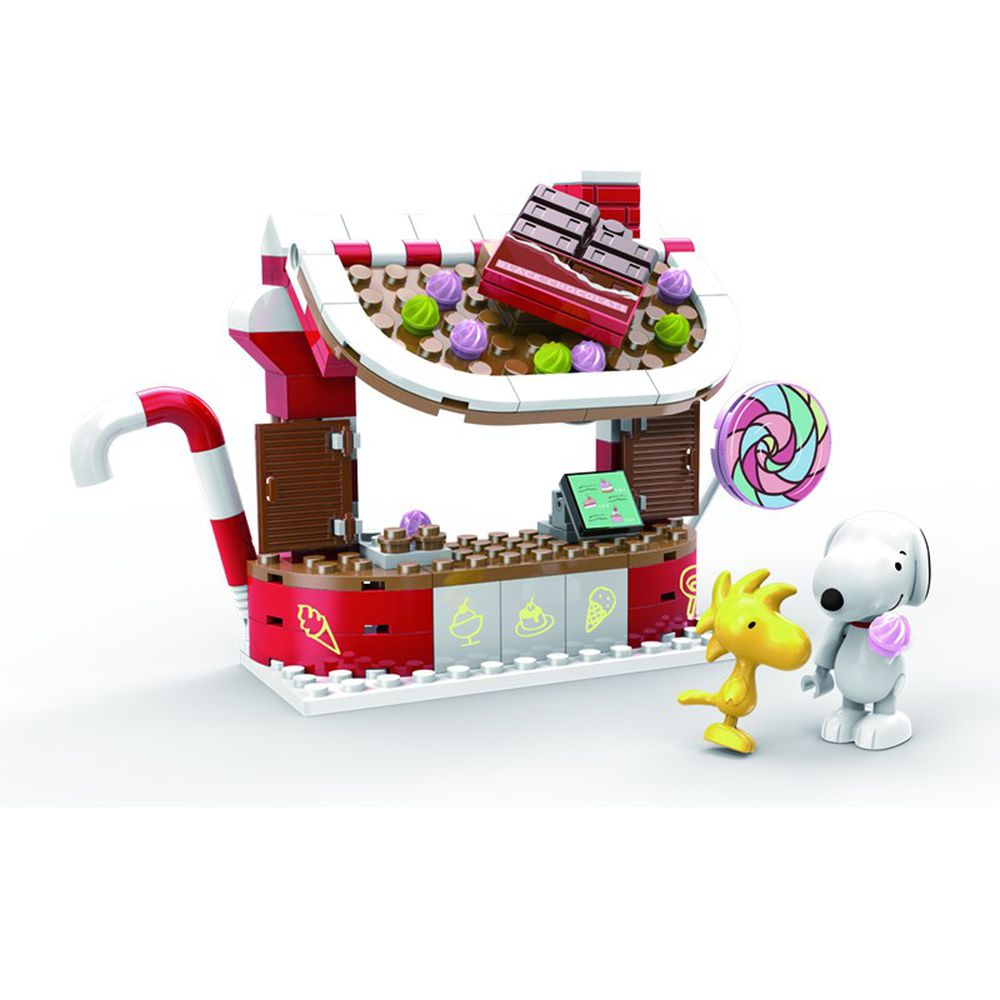 Linoos - 史努比歡樂廣場系列-巧克力糖果屋-145片