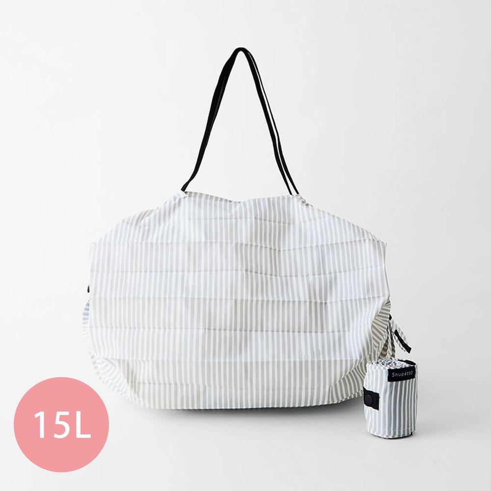 日本 MARNA - Shupatto 秒收摺疊購物袋-五週年限定升級款-文青手帳 (M(30x35cm))-耐重5kg / 15L