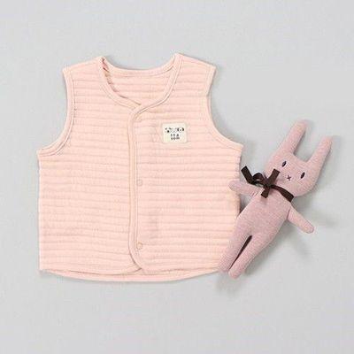 100%有機棉背心-粉色