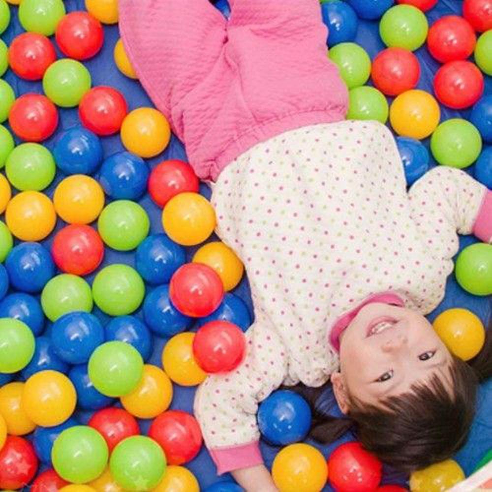 DJ Toys - MIT台灣製100顆彩色遊戲球-100顆7公分遊戲球