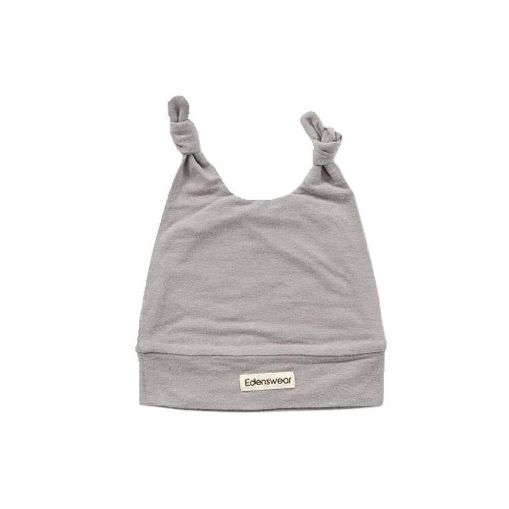 Edenswear 伊登詩 - 鋅纖維抗敏衣系列-嬰兒帽子-灰 (FREE)
