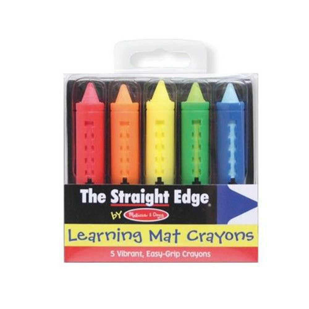 美國瑪莉莎 Melissa & Doug - MD 蠟筆-可水洗蠟筆,5色