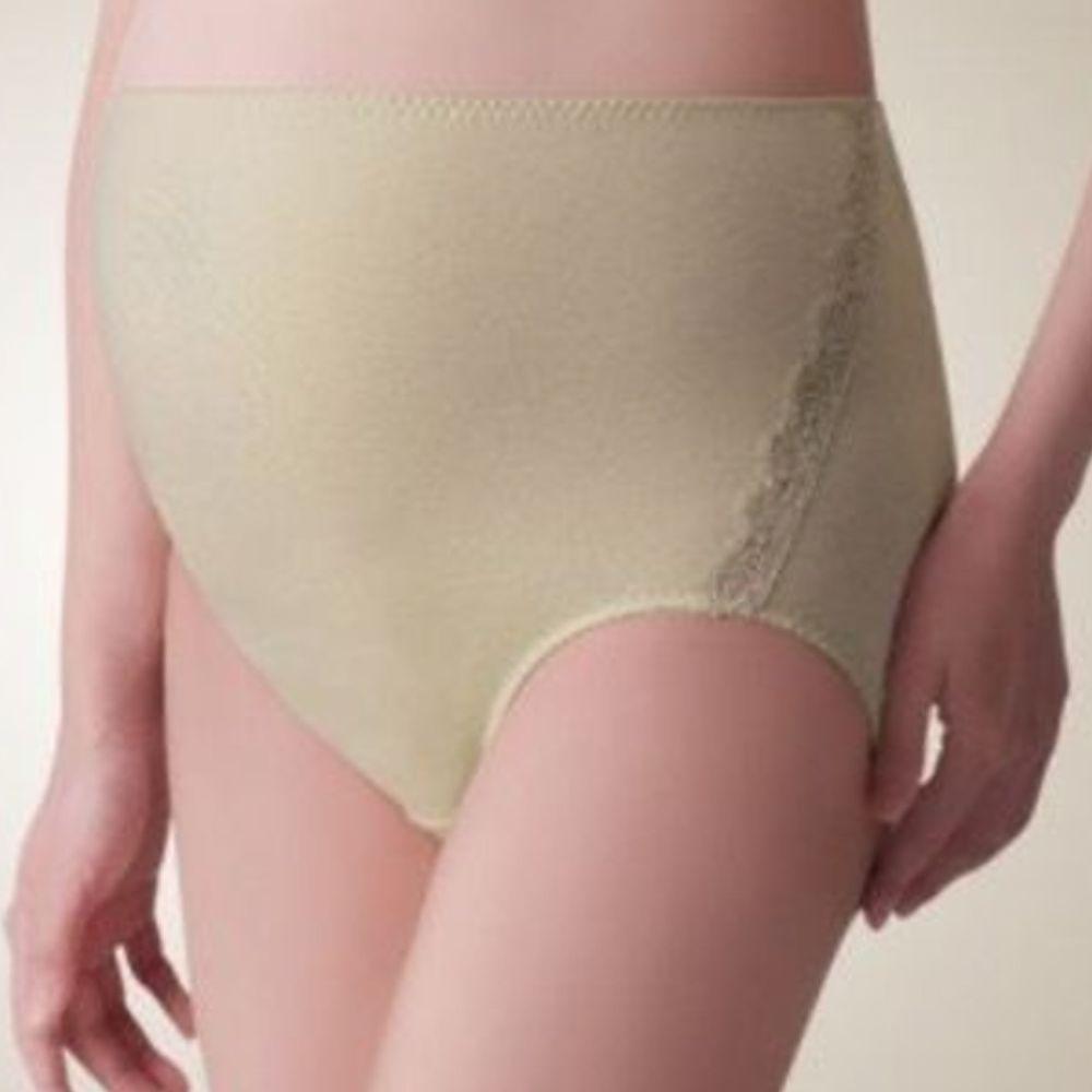日本 Combi - 天然彩棉孕婦褲-綠色