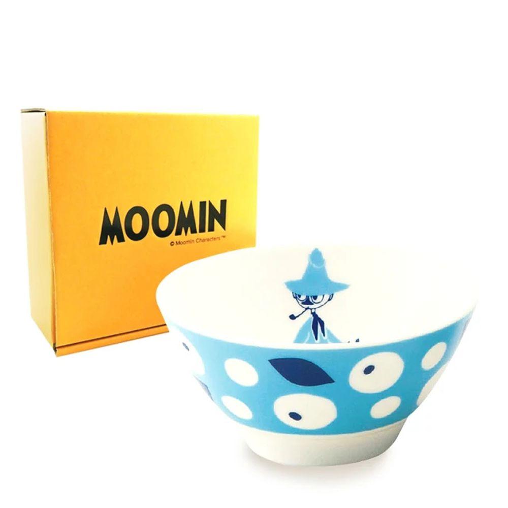 日本山加 yamaka - moomin 嚕嚕米彩繪陶瓷碗禮盒-MM033-312-1入
