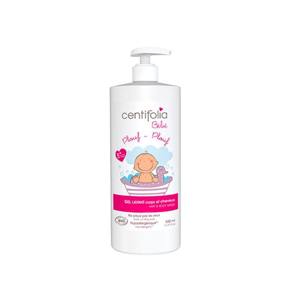 法國貝貝 - 嬰兒系列-嬰幼兒雙用沐浴乳-500ml