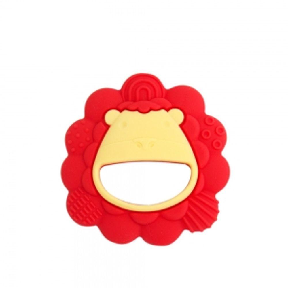 MARCUS&MARCUS - 動物樂園感官啟發固齒玩具-紅獅子