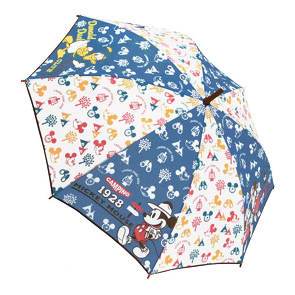 日本代購 - 卡通直傘-1928滿版米奇 (55cm(130cm以上))
