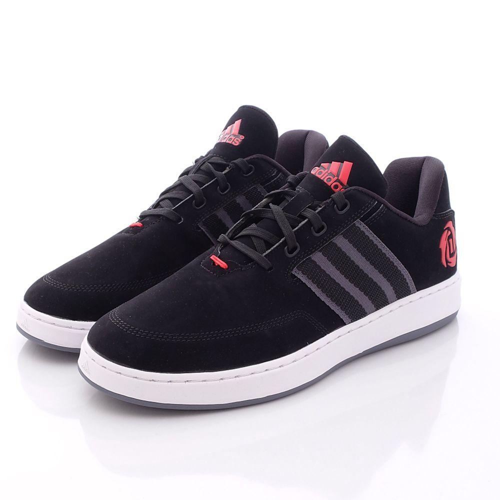 adidas - 愛迪達童鞋-時尚休閒鞋款(成人男段)-黑