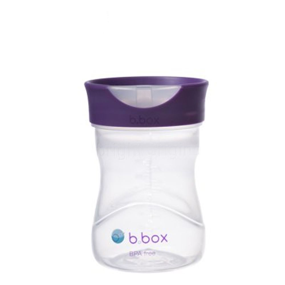 澳洲 b.box - 學飲杯-葡萄紫