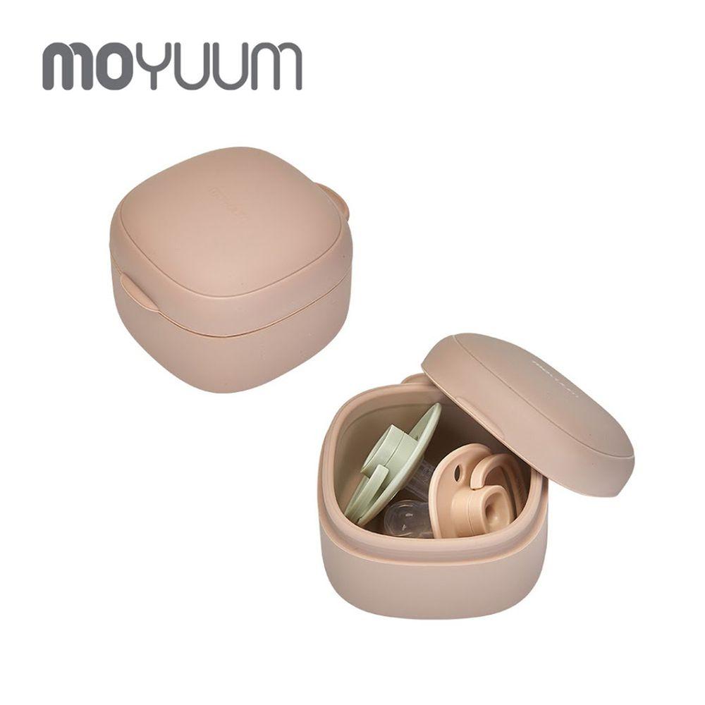 韓國 Moyuum - 多功能矽膠收納盒-米色