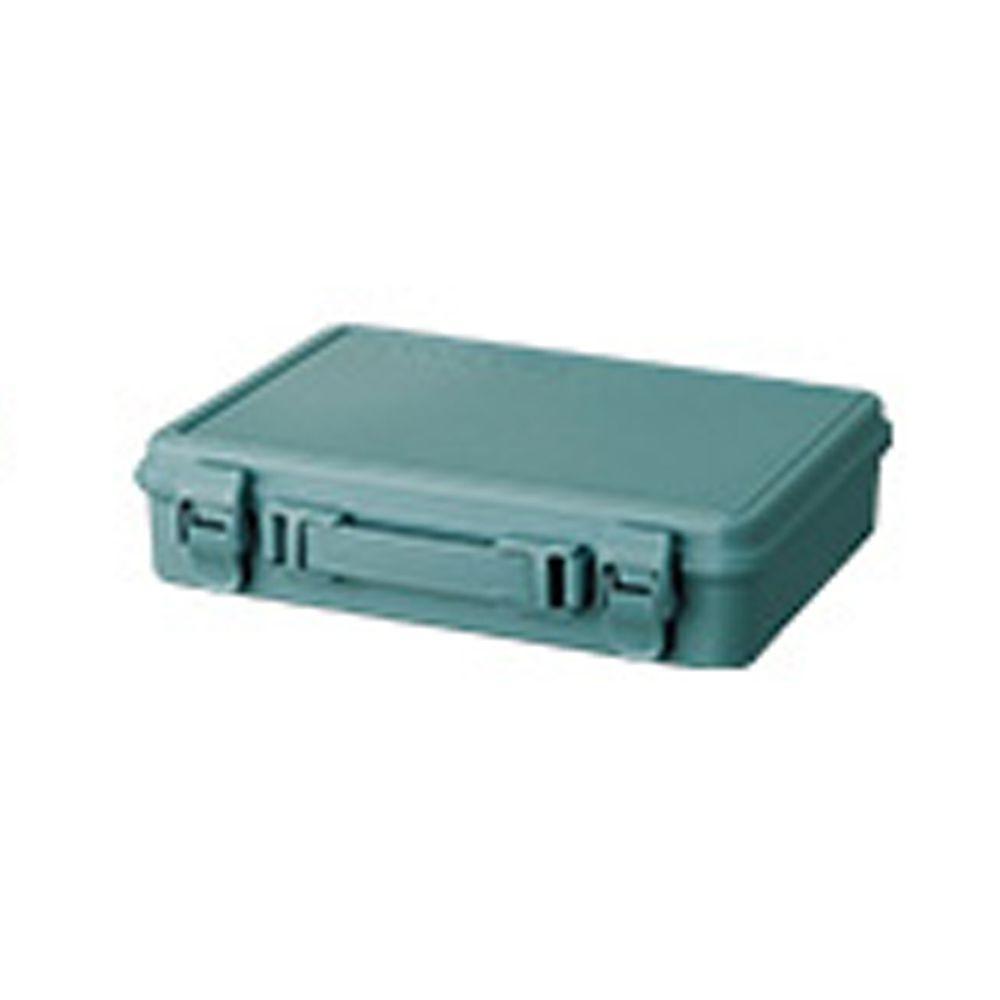 日本天馬 - HACOTTO 扁形B5多功能PP手提式收納工具箱-湖水藍