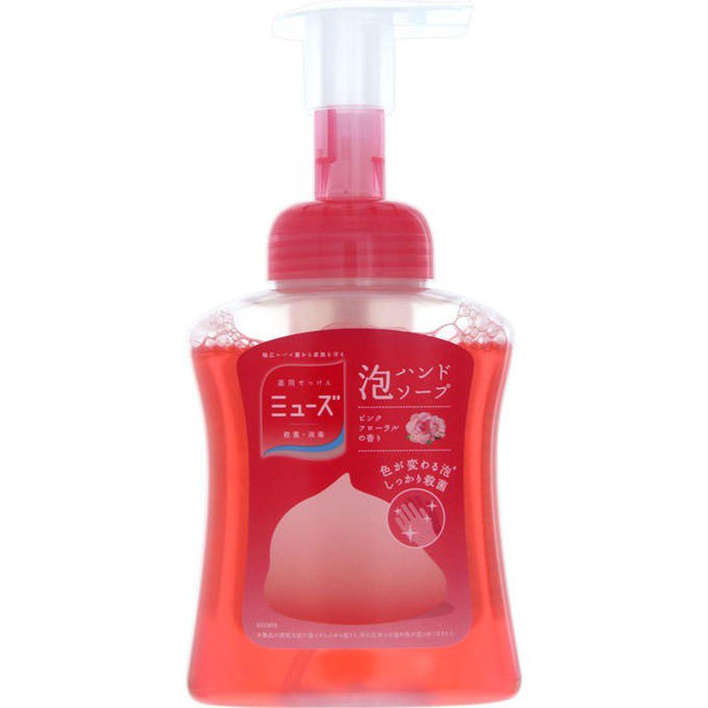 日本 Muse - 抗菌按壓慕斯泡沫洗手乳-粉罐滋潤