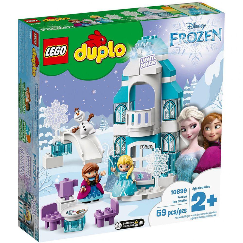 樂高 LEGO - 樂高積木 LEGO《 LT10899 》Duplo 大顆粒- Frozen Ice Castle-59pcs