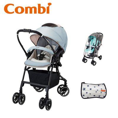 Handy Auto 4 Cas Light 雙向輕量型嬰幼兒手推車-4.7kg-浪漫藍-買贈雨罩+握把套
