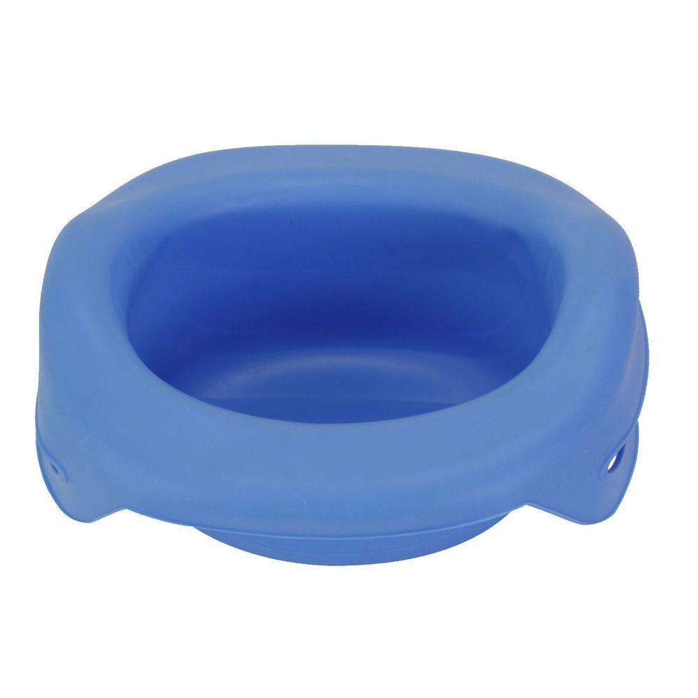 美國 Potette Plus - 摺疊式家用防漏盆-藍色