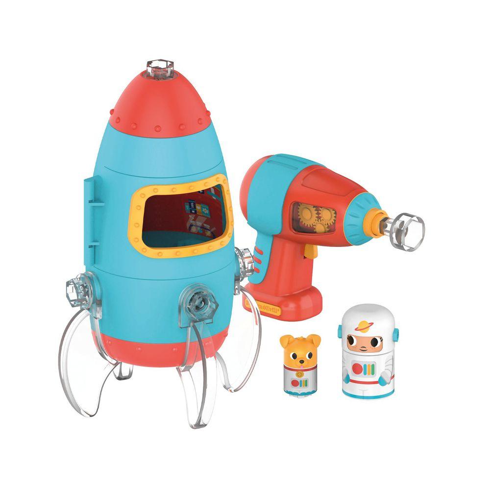 美國 Educational Insights - Design & Drill-【新品】太空火箭
