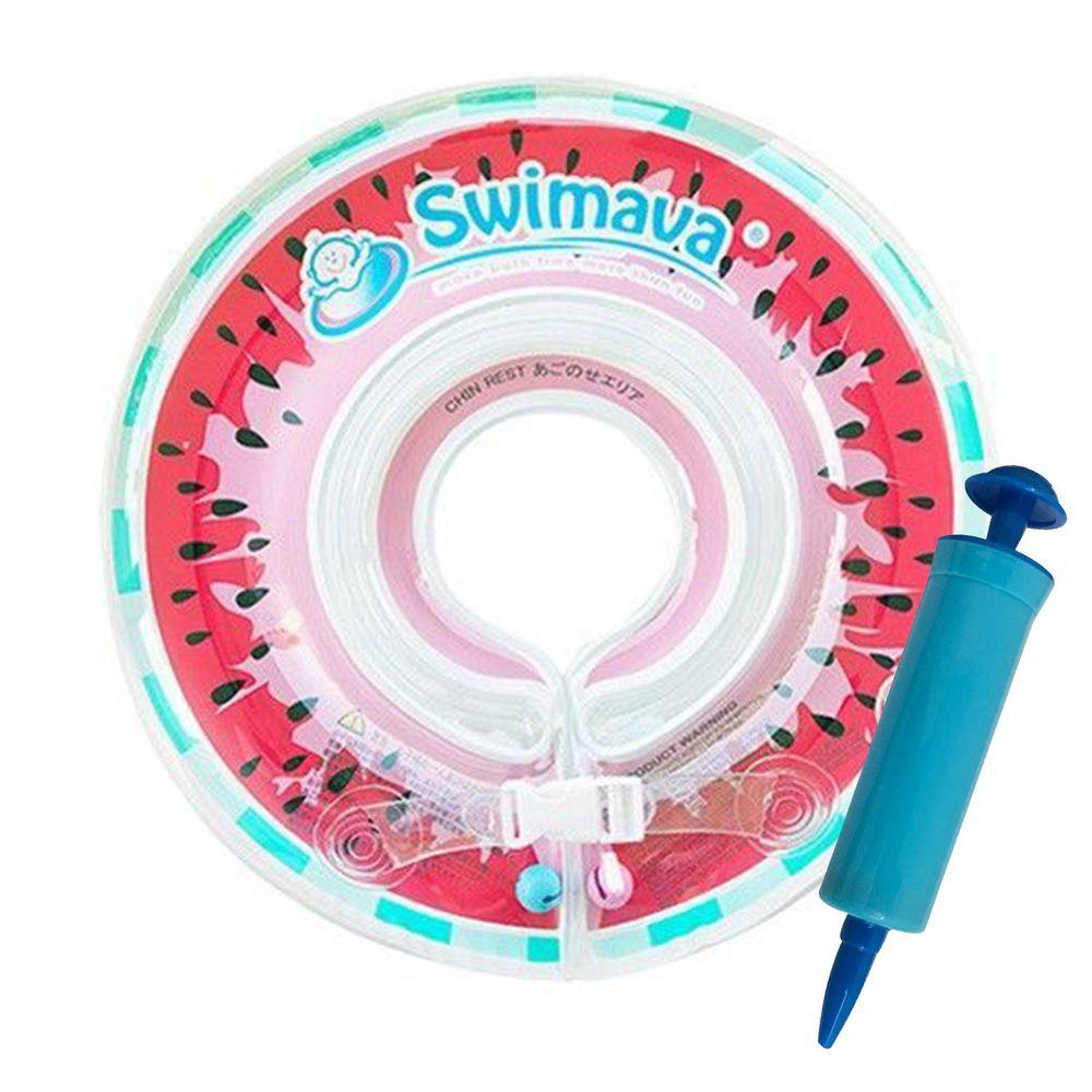 Swimava - G1嬰兒游泳脖圈-西瓜 (1-18個月,13kg以內)