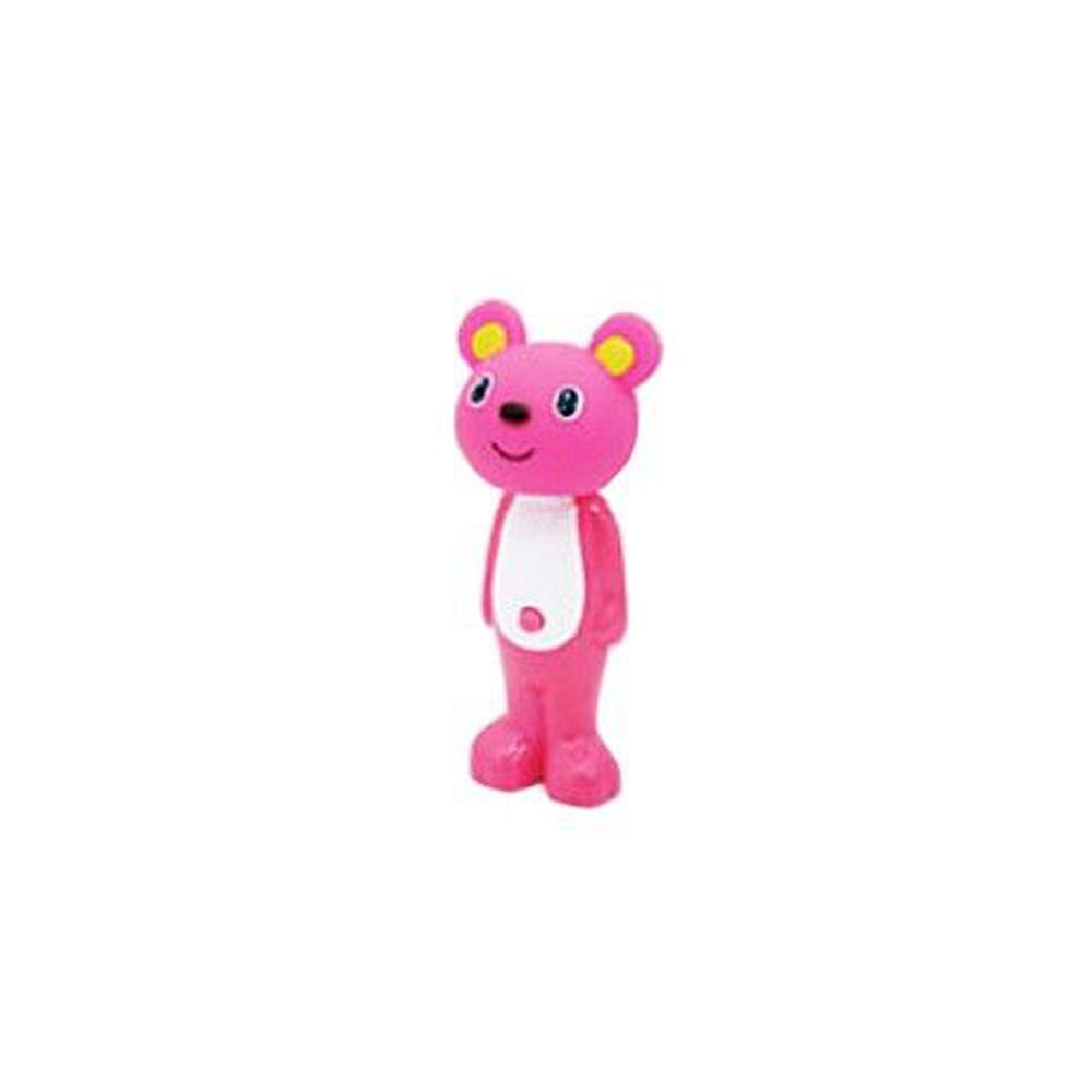 日本 U-COMPANY - Bounce up 彈跳牙刷-小熊妹妹-粉紅