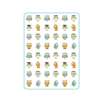 防水尿墊-貓頭鷹 (中 (90x65cm))