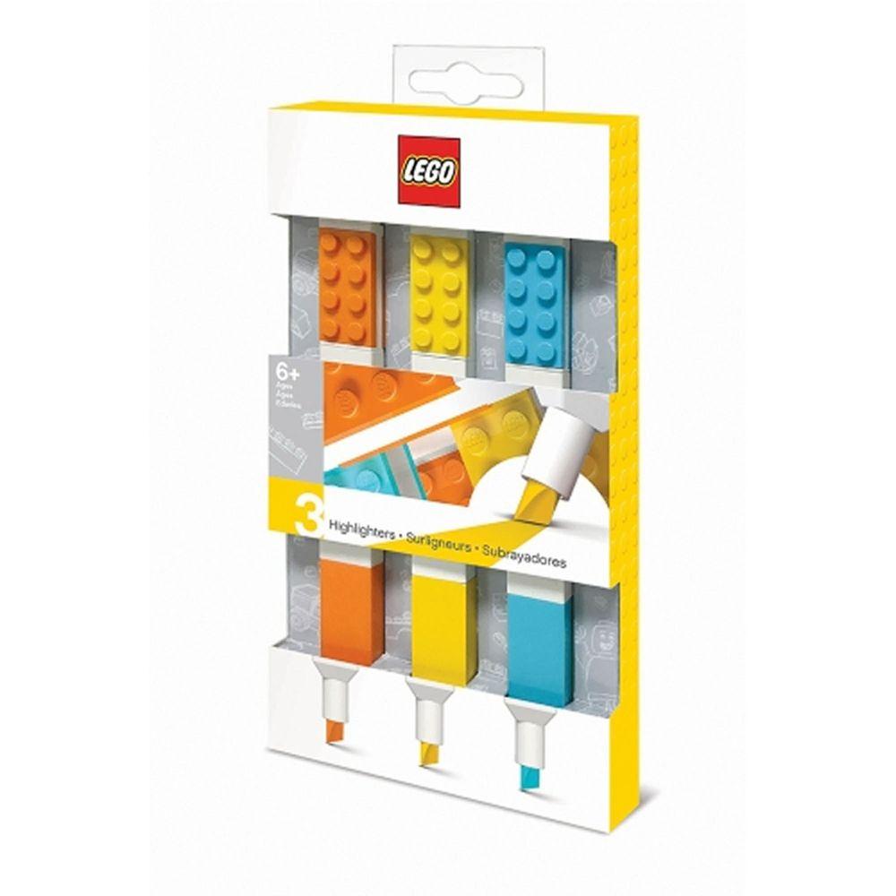 樂高 LEGO - LEGO螢光筆 (3色)-長約17.9公分