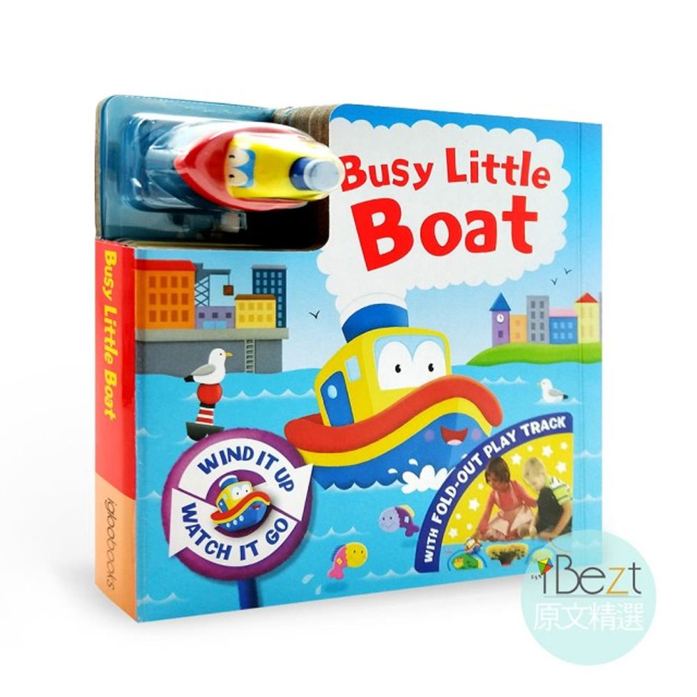 Busy Day Board 軌道車車書-Busy Little Boat