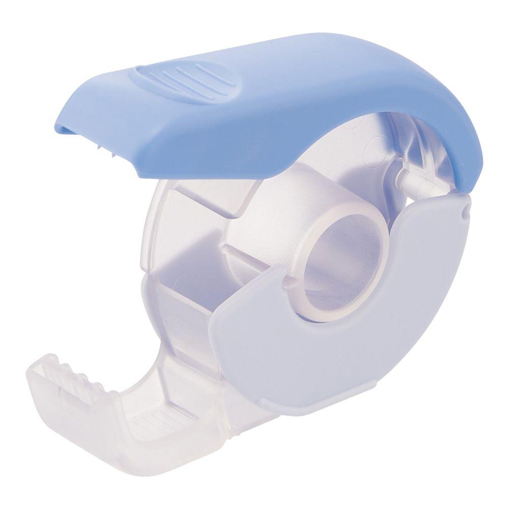 日本文具 LIHIT - 按壓式紙膠帶切割器-天空藍