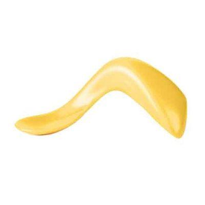 曲線學習湯匙-右手版-黃檸檬 (9個月以上適用)