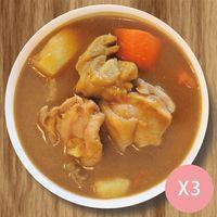 甘口咖哩雞 1包 (350g±5%)*3 X 1