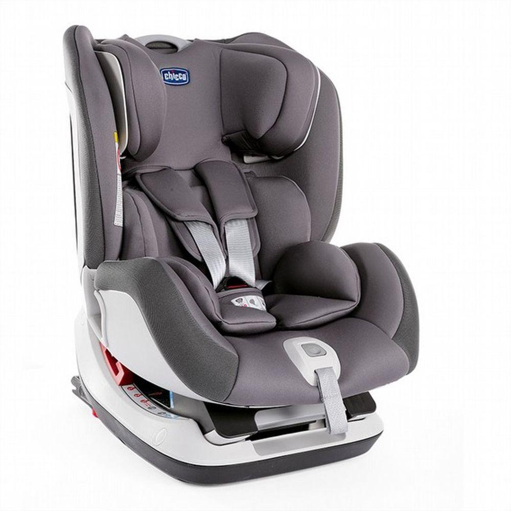 義大利 chicco - Seat up 012 Isofix安全汽座-大理灰