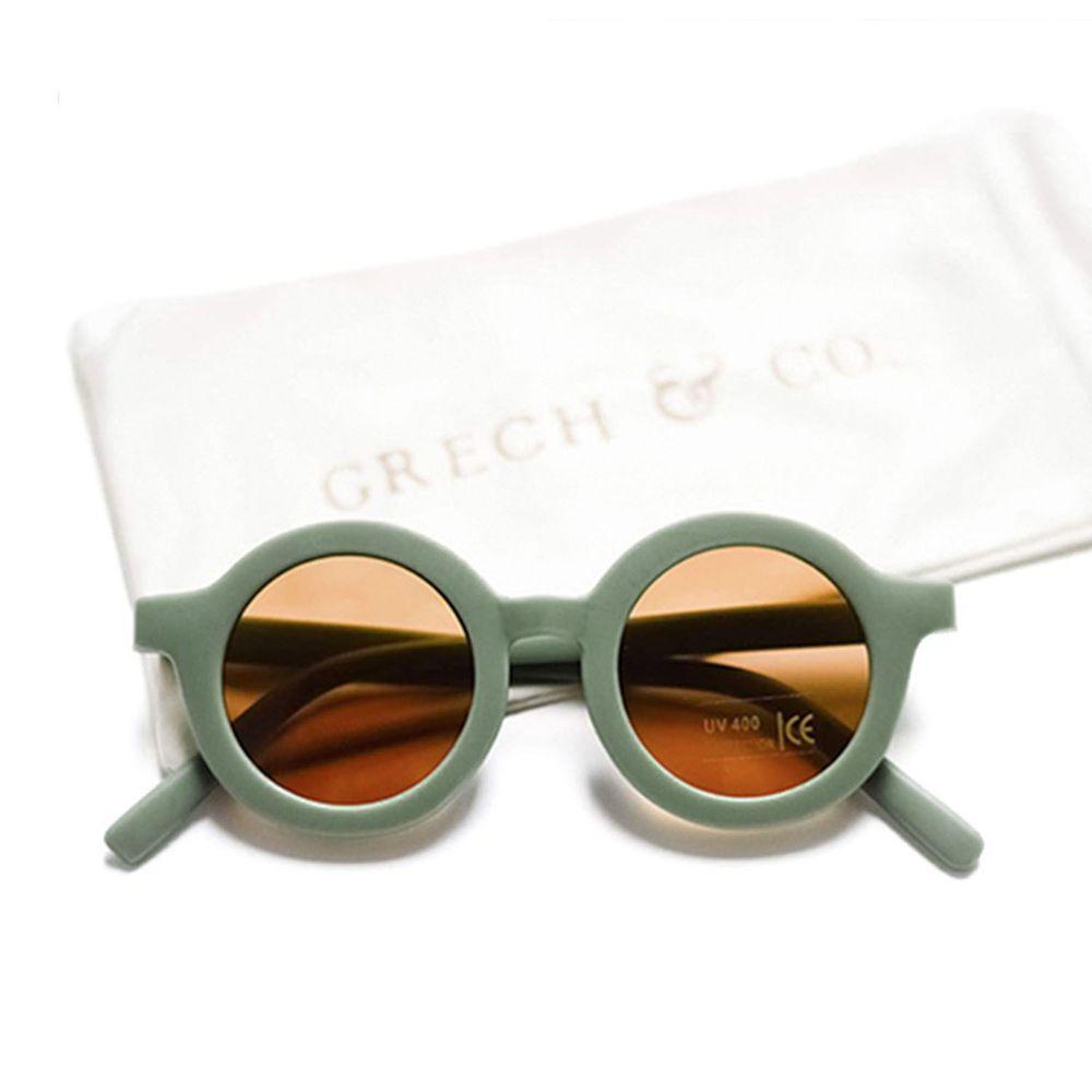 丹麥GRECH&CO - 兒童太陽眼鏡-經典款-蕨青-18個月至6歲