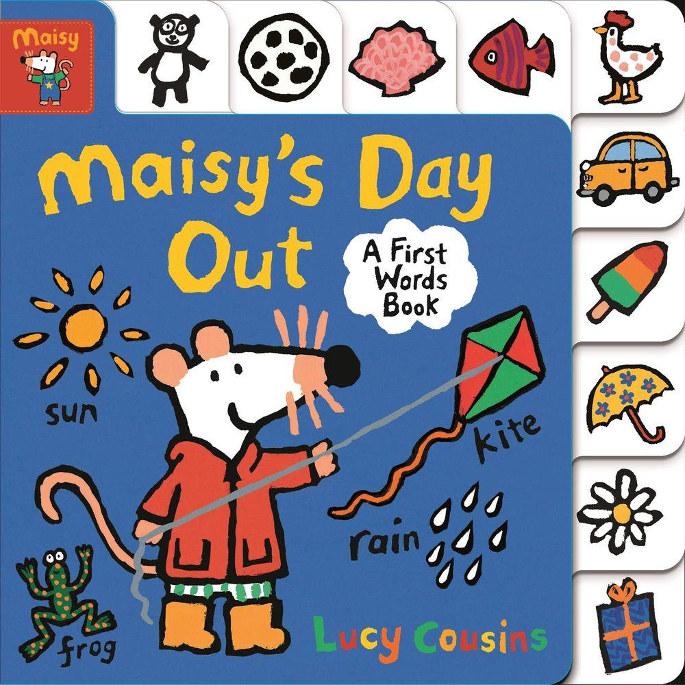 MAISY'S DAY OUT-硬頁書-彩色 (19x19cm)