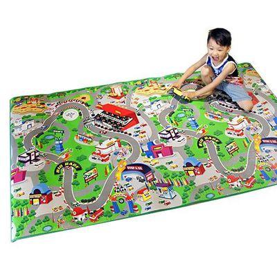 兒童安全遊戲地墊-大-跑跑賽車城 (200 x 120cm)
