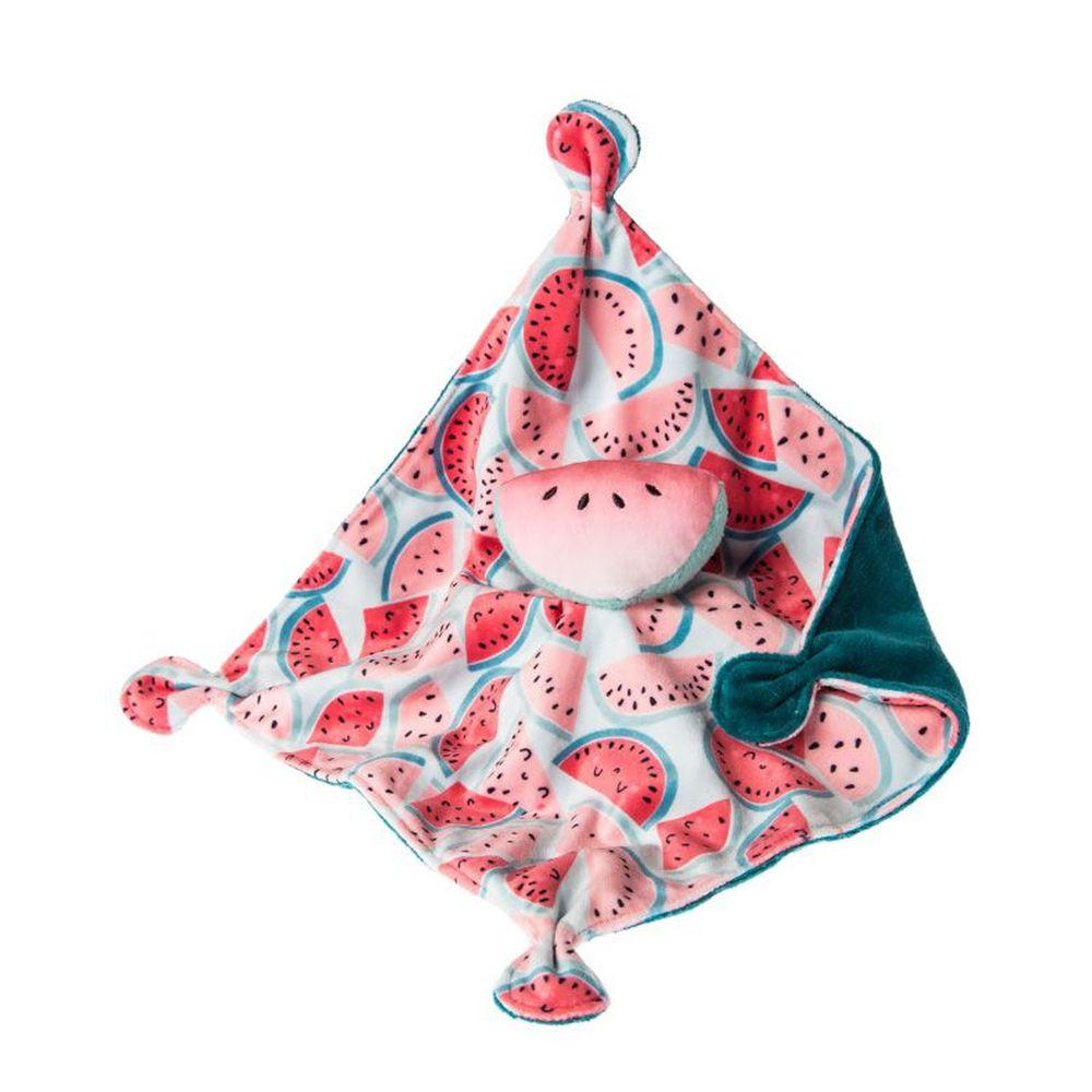 美國 MaryMeyer 蜜兒 - 柔軟安撫巾-甜蜜蜜小西瓜
