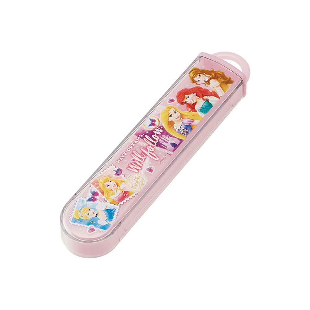 日本 SKATER - 牙刷收納盒-迪士尼公主