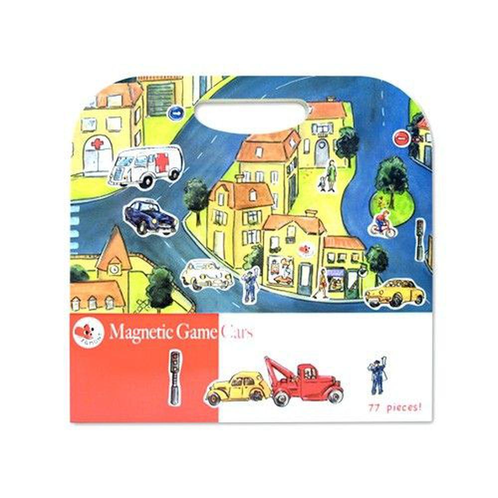比利時艾格蒙 - 繪本風磁鐵書-車車方程式-25x24x1 cm