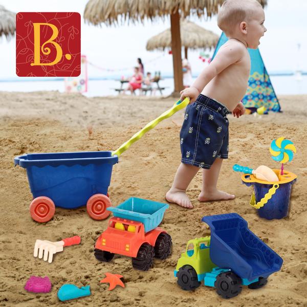 今夏最夯【玩沙 X 戲水玩具】TOP5!無塑化劑,孩子玩最安全
