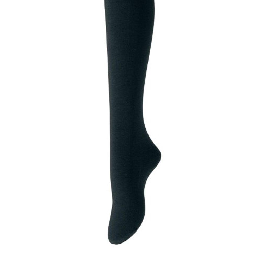 日本千趣會 - 棉混 (成人)180丹發熱褲襪-黑