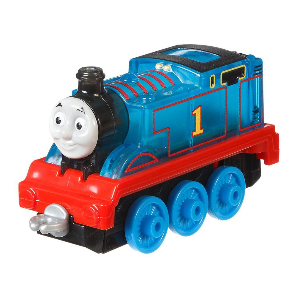湯瑪士小火車 - 大冒險系列-經典發光合金小車-Thomas