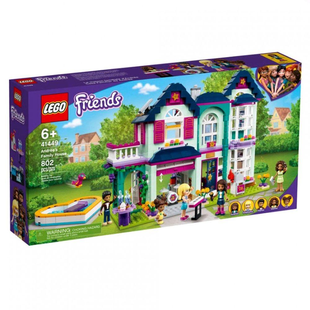 樂高 LEGO - 樂高積木 LEGO《 LT41449 》Friends 姊妹淘系列 - 安德里亞的家-802pcs
