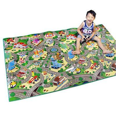 兒童安全遊戲地墊-大-城市街道 (200 x 120cm)