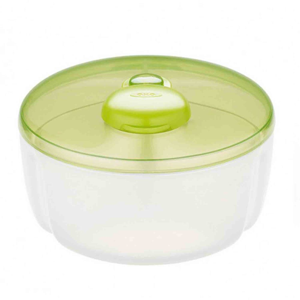 美國 OXO - 隨行分隔奶粉罐-青蘋綠